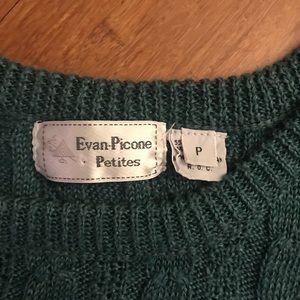 Evan Picone Sweaters - Vintage sleeveless knit sweater